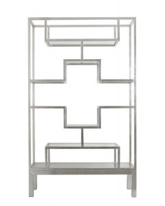Worlds Away Greg Natale Silver Etagere