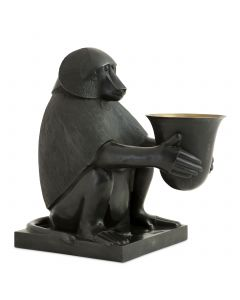 Art Deco Monkey with Light