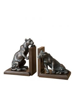 Lioness Bookend - Set of 2