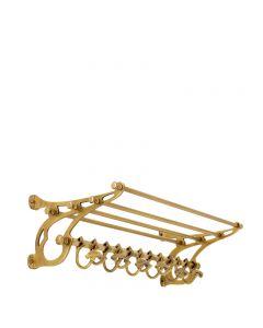 Hudson Brass Coatrack