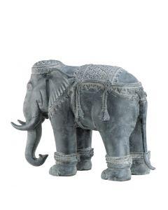 Extra Large Zinc Elephant Statue