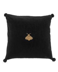Lacombe Black Velvet Pillow