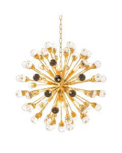 Antares Large Gold Chandelier