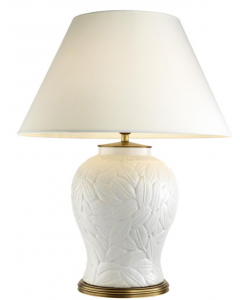 Cyprus White Ceramic Table Lamp