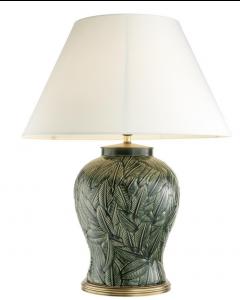 Cyprus Green Ceramic Table Lamp
