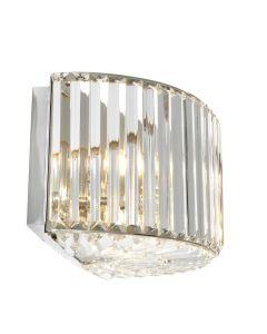 Infinity Nickel Wall Lamp