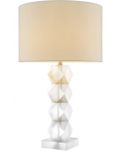 Whealon Frosted Crystal Table Lamp