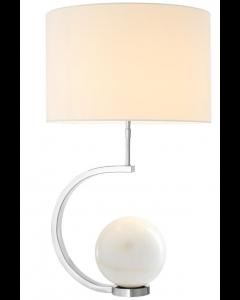 LUIGI TABLE LAMP NICKEL