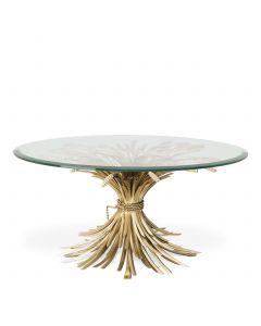 Bonheur Antique Gold Coffee Table