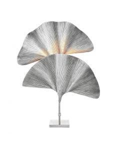 Las Palmas Silver Plated Table Lamp