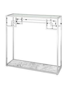Morris Stainless Steel Console Table