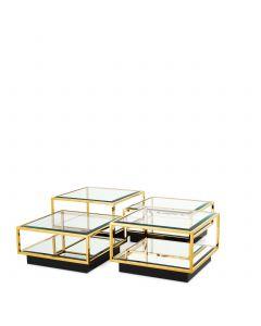 Tortona Gold Coffee Table - Set of 4