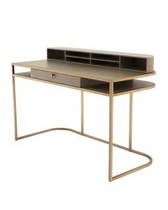 Highland Washed Oak Veneer Desk
