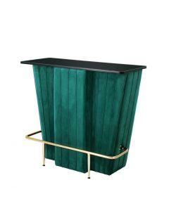Bolton Green Velvet Bar