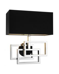 Eichholtz Windolf Nickel Wall Lamp