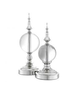 Zamora Nickel Objects - Set of 2