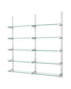 Eichholtz Edison Stainless Steel Wall Cabinet