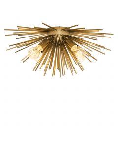 Boivin Matte Brass Ceiling Lamp