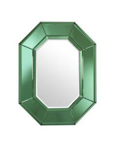 Le Sereno Green Glass Mirror front