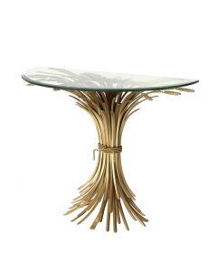 Bonheur Gold Console Table