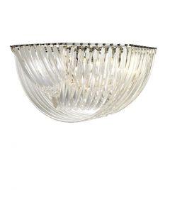 Eichholtz Hyeres Nickel Ceiling Lamp