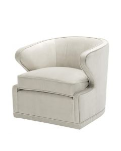 Eichholtz Dorset Pebble Grey Chair