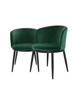 Filmore Cameron Green Dining Chair - Set of 2