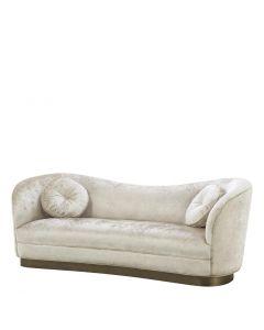 Jackie Mirage Off-White Sofa