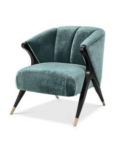 Pavone Aegean Green Armchair