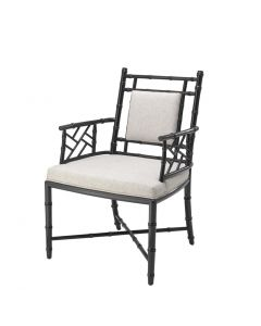 Germaine Black Dining Chair