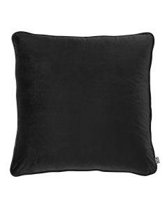 Roche Black Velvet Pillow - 60 x 60cm
