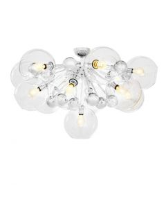Eichholtz Soleil Nickel Ceiling Lamp