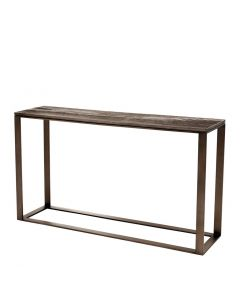 Zino Light Bronze Console Table