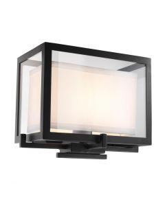 Pulse Black Wall Lamp