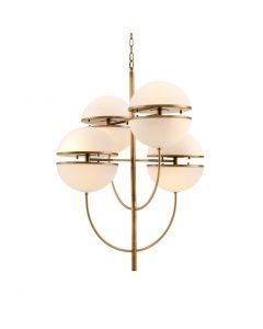 Spiridon Antique Brass Chandelier