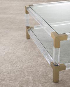 Liam Silver Sand Rug - 300 x 400cm