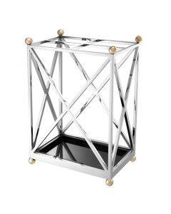 Quorum Silver Umbrella Stand