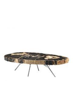 Barrymore Dark Petrified Wood Coffee Table