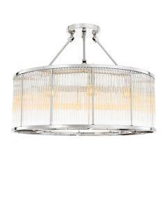 Bernardi Nickel Ceiling Lamp