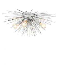 Boivin Nickel Ceiling Lamp