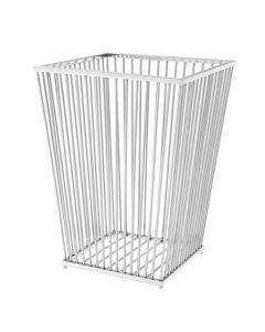 Hackney Silver Towel Basket