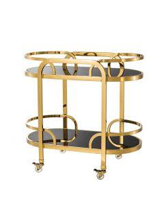 Oakhurst Gold Bar Cart
