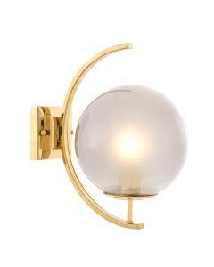 Cascade Gold Wall Lamp