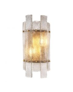 Caprera Antique Brass Wall Lamp