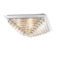 Eden Nickel Ceiling Lamp