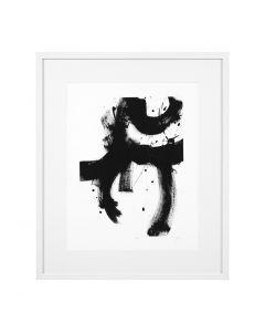 Onyx Gesture II Print