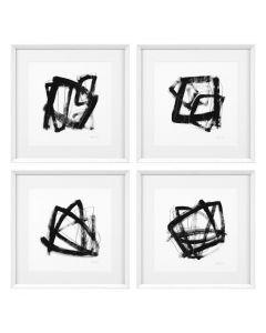 Tessellation Prints - Set of 4