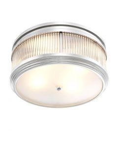 Rousseau Nickel Ceiling Lamp