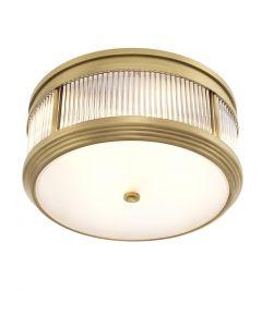 Rousseau Brass Ceiling Lamp
