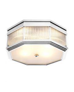 Bagatelle Nickel Ceiling Lamp